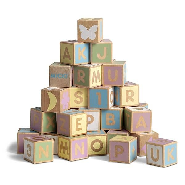 Alphabet Blocks – Pastel