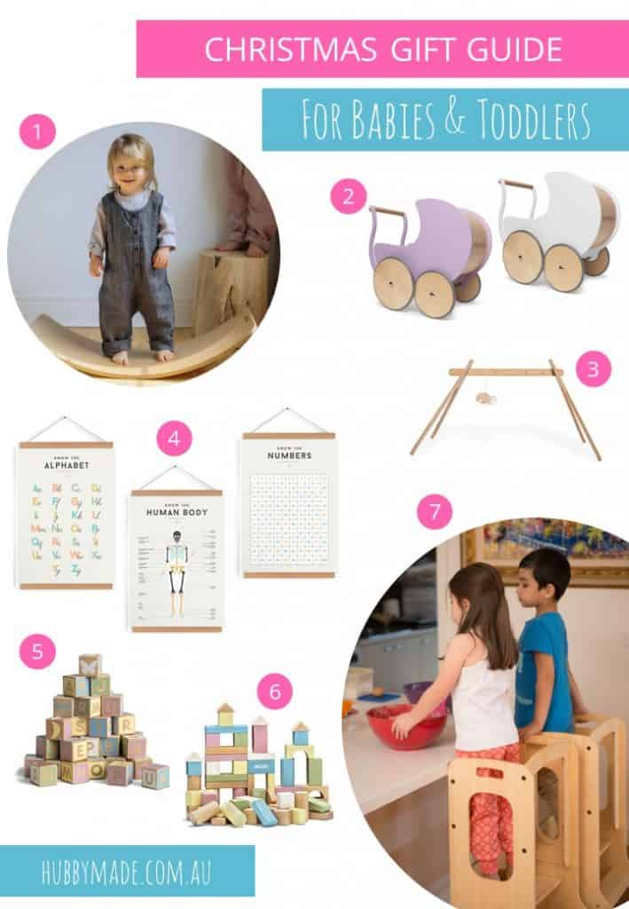 7 Christmas Gift Ideas for Babies and Toddlers