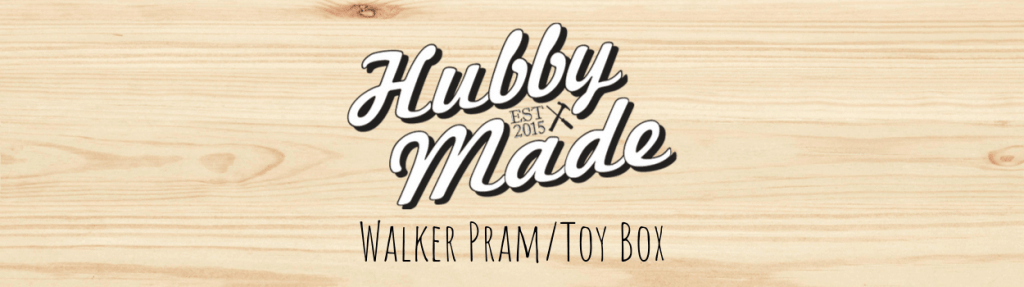 Walker Pram Toy Box