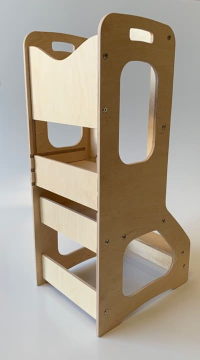 hubbymade learning tower